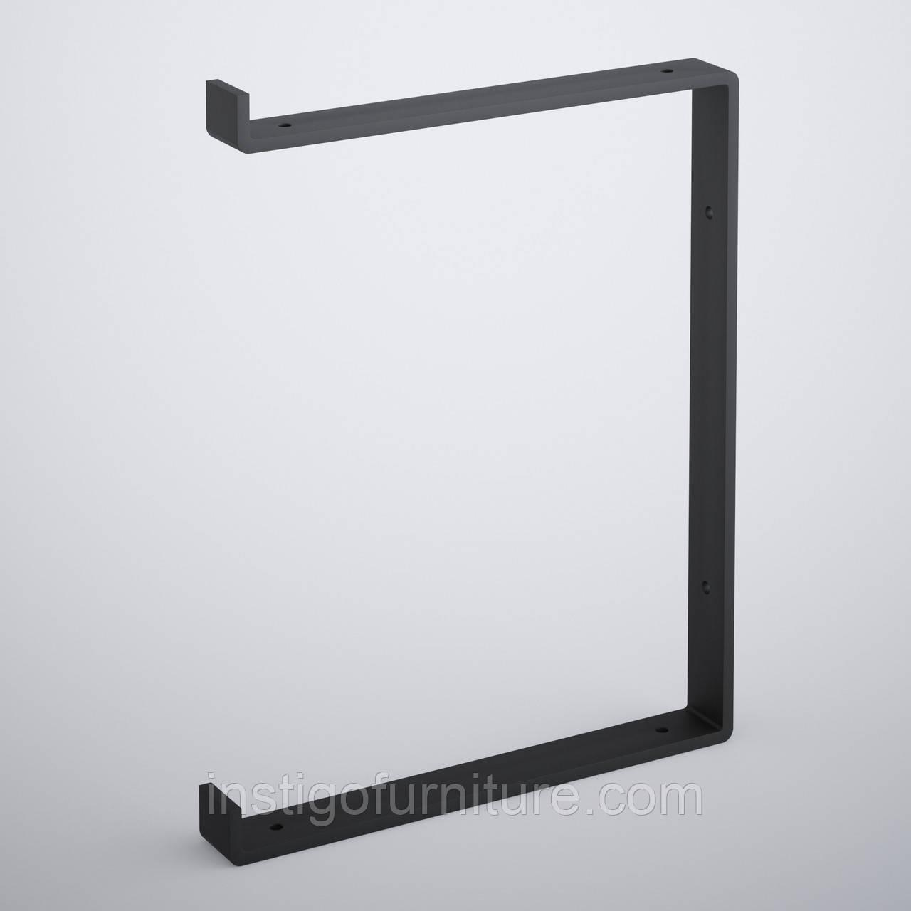 Кронштейн для полки из металла 262×30mm, H=340mm