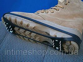 Ледоступы на 28 шипов, размер 38-46, накладки на обувь против скольжения | льодоступи на взуття (TI)