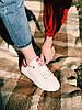 Кроссовки белые с красным задником Adidas Stan Smith Red Стен Сміт Червоні