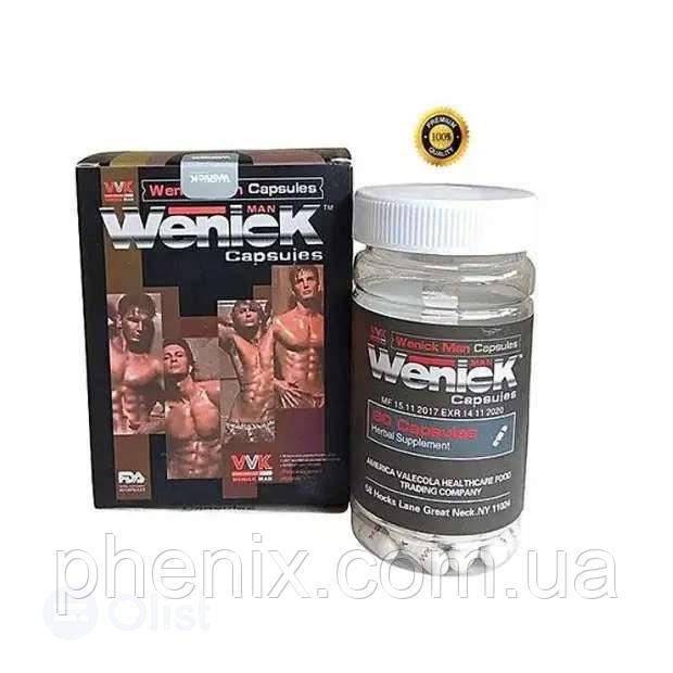 Капсулы Valecola Wenick Man для повышения потенции 60 капсул (ВениК)