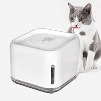 Поилка - фонтан для кошек и собак Wandai  PS-67  2,5л Белая, фото 1