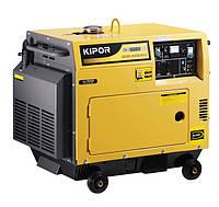 Трехфазный дизельный генератор Kipor KDE6500T3 (4,8 кВт)