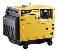 Однофазный дизельный генератор Kipor KDE6500Т (5,5 кВт)