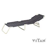 Vitan раскладушка Диагональ, шотландка, утепленная синтепоном (2110021)