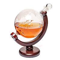 """Подарочный набор для виски """"Вокруг света"""" 1500 мл Гранд Презент 640013"""