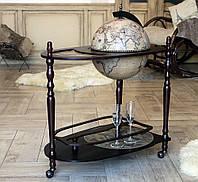 Глобус бар напольный со столиком Зодиак 71*45*89 см Гранд Презент 33035N