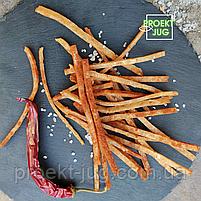 Треска  с перцем соломка  (рыбные снеки), 1000 грамм, фото 2