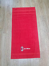 Полотенце банное с символикой FC Milan