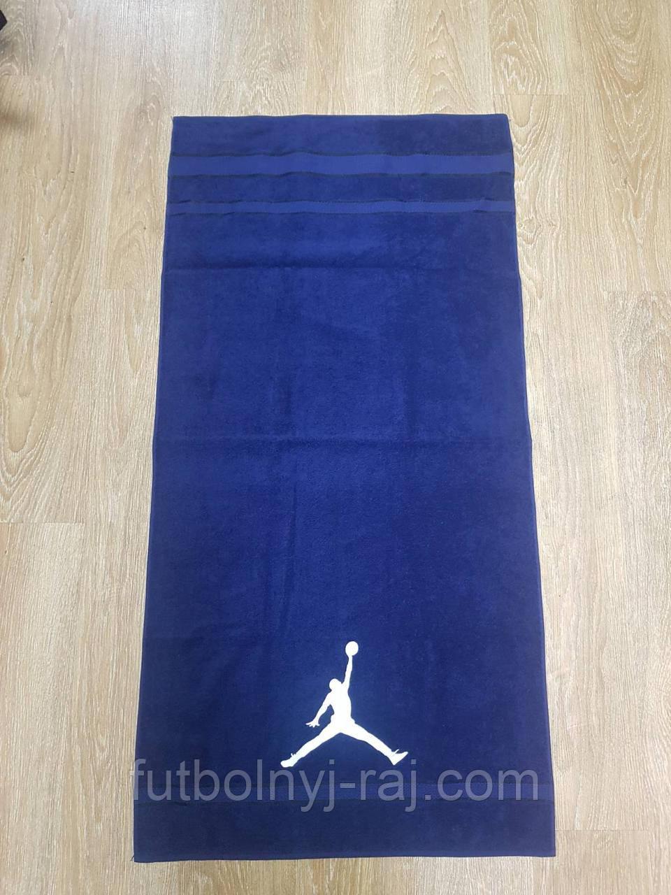 Полотенце банное с символикой Jordan