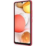 Защитный чехол Nillkin для Samsung Galaxy A42 5G Super Frosted Shield Red, фото 5