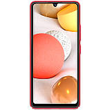 Защитный чехол Nillkin для Samsung Galaxy A42 5G Super Frosted Shield Red, фото 3