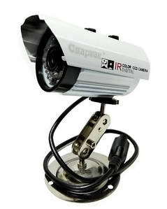 Камера відеоспостереження вулична Спартак 635 IP 1.3 mp 2621, білий