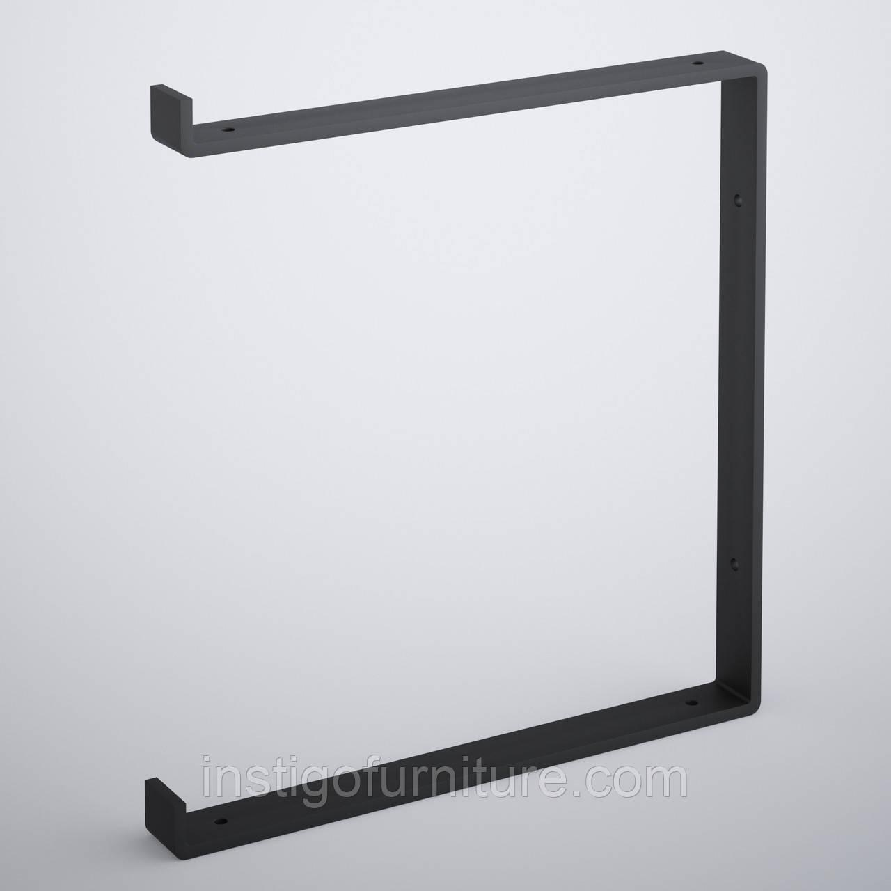 Кронштейн для полки из металла 312×30mm, H=340mm