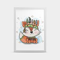Постер на стену Белочка 20*30 см
