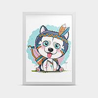 Постер на стену Маленький волк 20*30 см