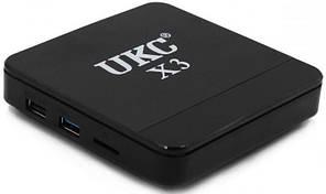 Смарт-приставка Smart TV X3 MINI S905W 4GB(RAM) 32GB(ROM) с Bluetooth 7184