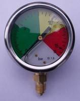 Манометр глицериновый металлический.4128-06-042