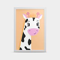 Постер на стену Жираф 20*30 см