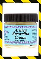 WiseWays Herbals, Крем с арникой и босвеллией, Обезболивающая мазь  28 г