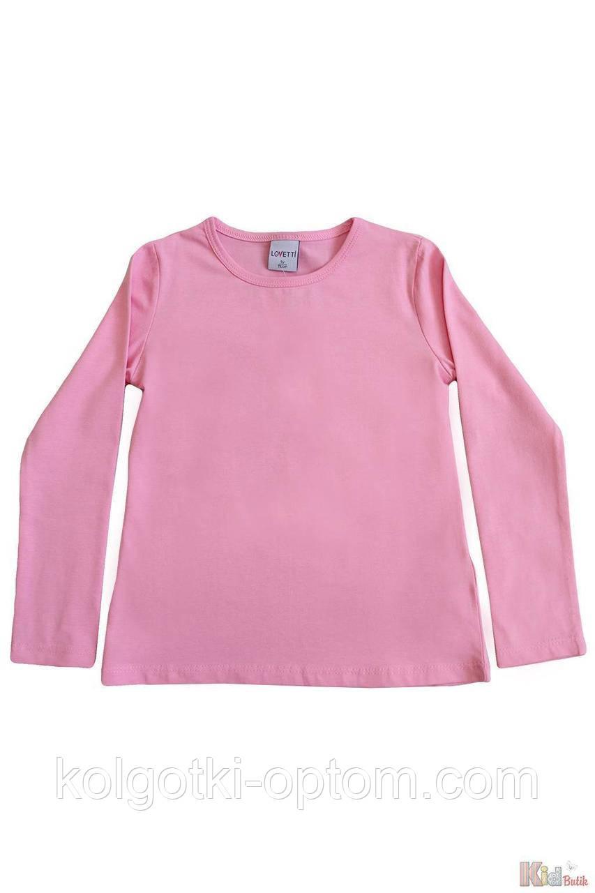ОПТОМ Реглан розового цвета базовый для девочки (110 см.)  Lovetti 2125000684567
