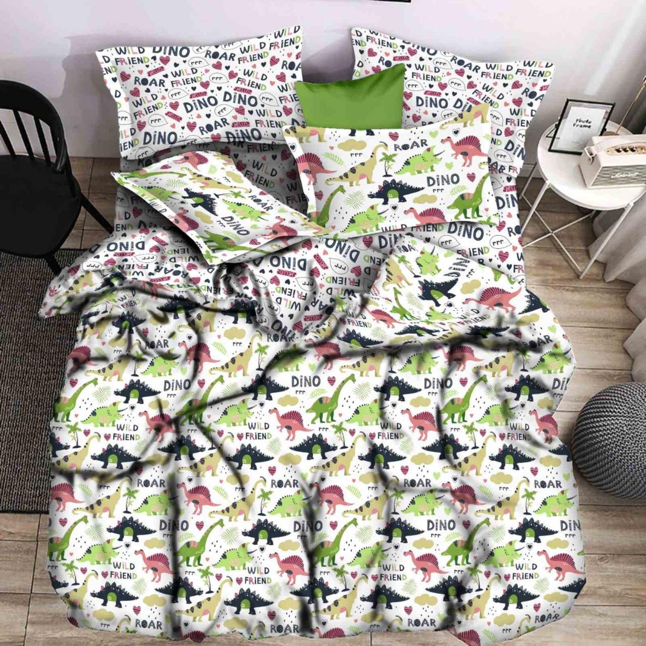 Детский комплект постельного белья 150*220 хлопок (16106) TM KRISPOL Украина
