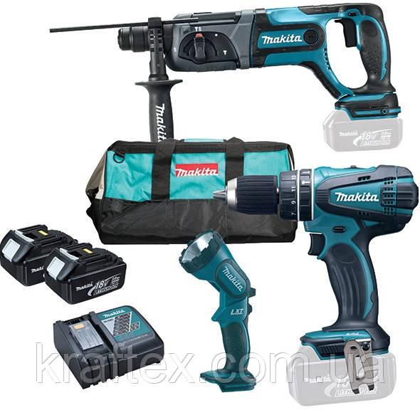 Набор инструментов Makita DLX 3008