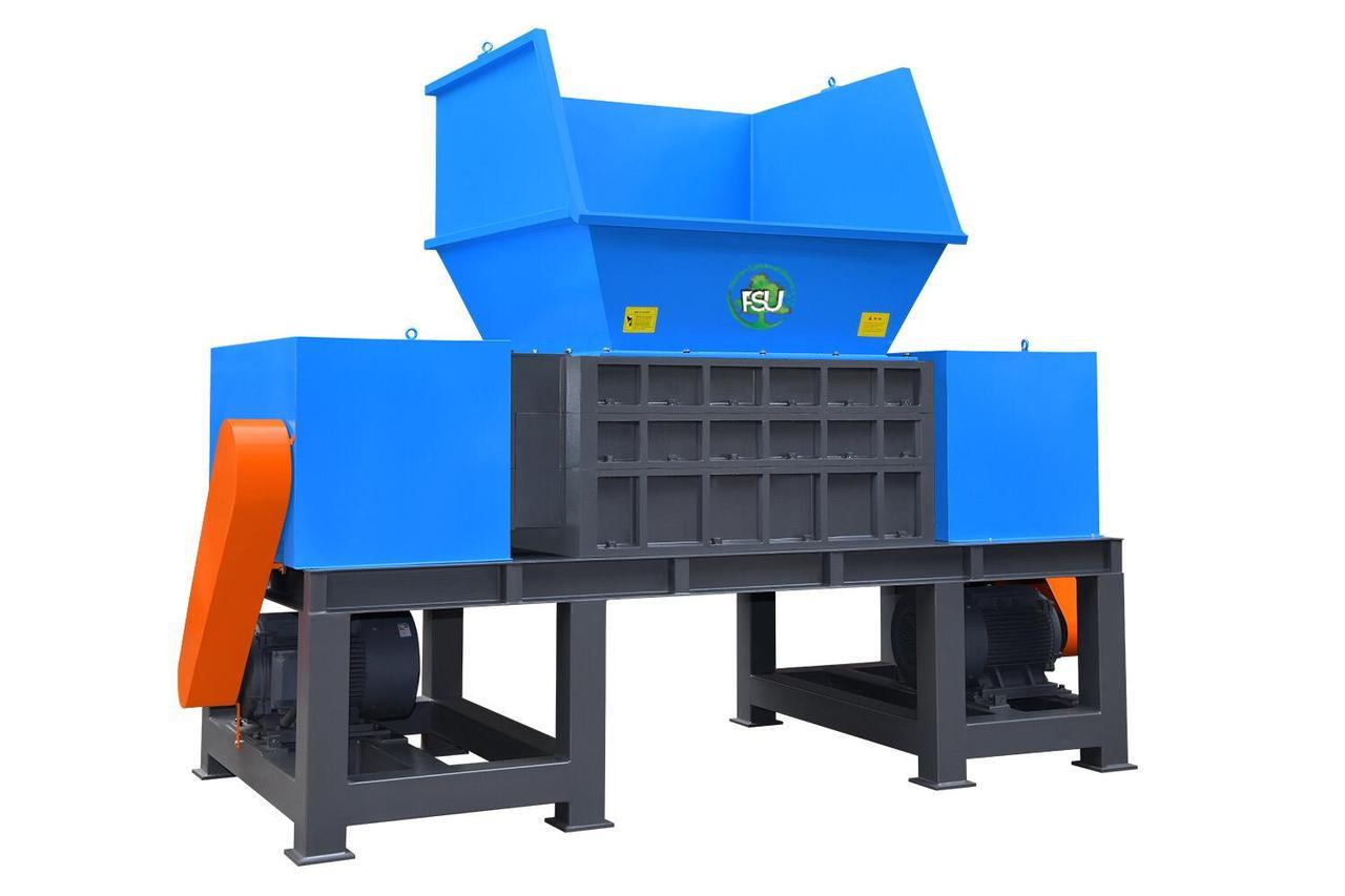 Подрібнювач (шредер) для знищення дерев'яних матеріалів і виробів