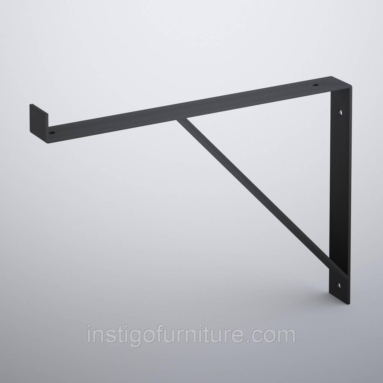 Кронштейн для полки из металла 303×30mm, H=227mm