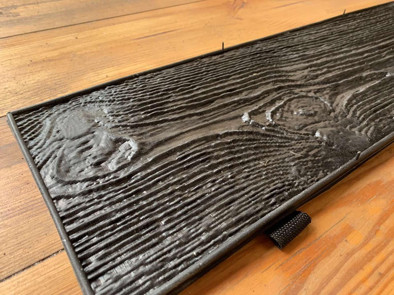 """Резиновый штамп """"Сосна №1"""" для печатного бетона 800*180 мм"""