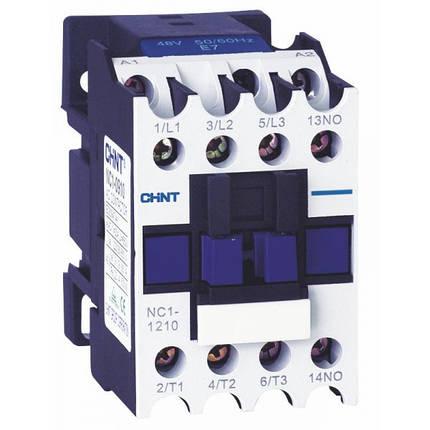 Контактор переменного тока NC1-3210 220V 50Hz, Chint, фото 2