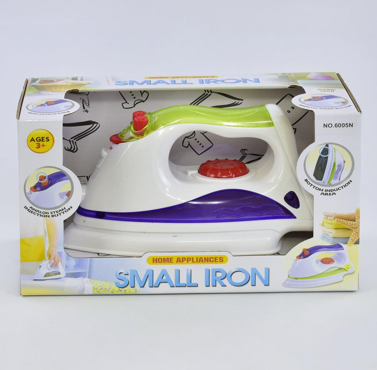 Утюг SMALL IRON детский в коробке 6005 N