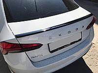 Спойлер багажника ( сабля ) Skoda Rapid 2020+ г.в. Шкода Рапид
