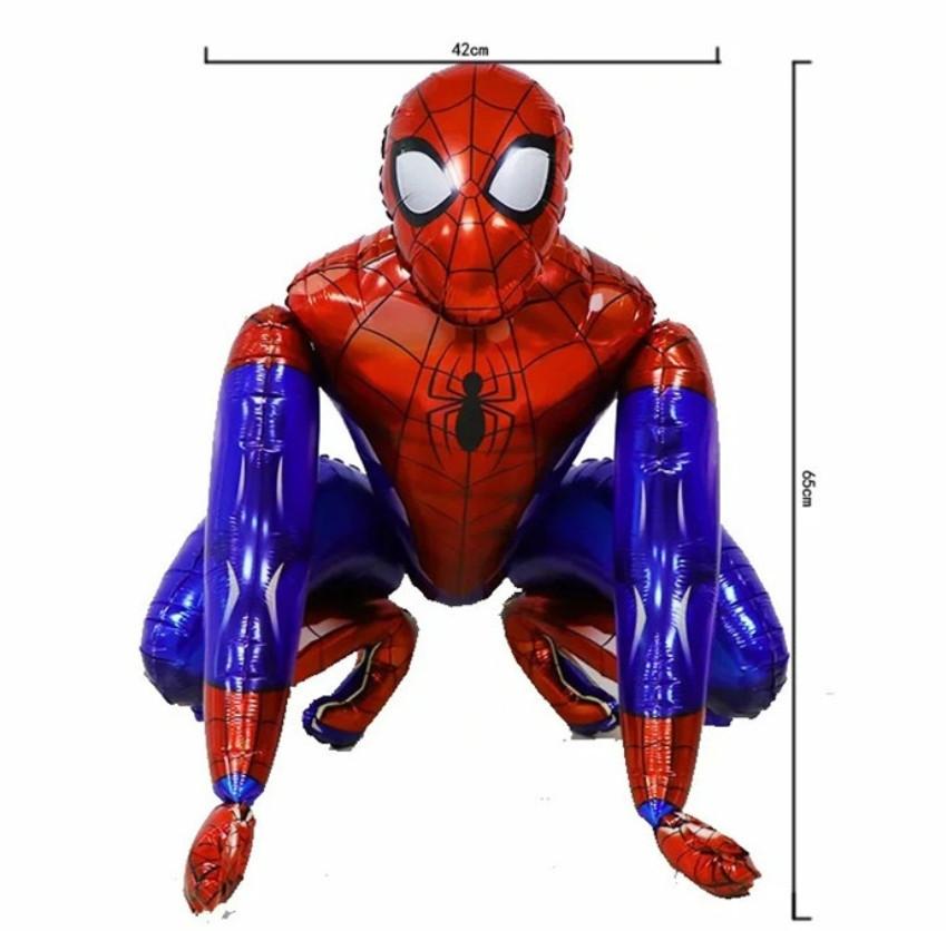 Фольгированный шар ходячка Человек Паук 42х65 см (Китай)