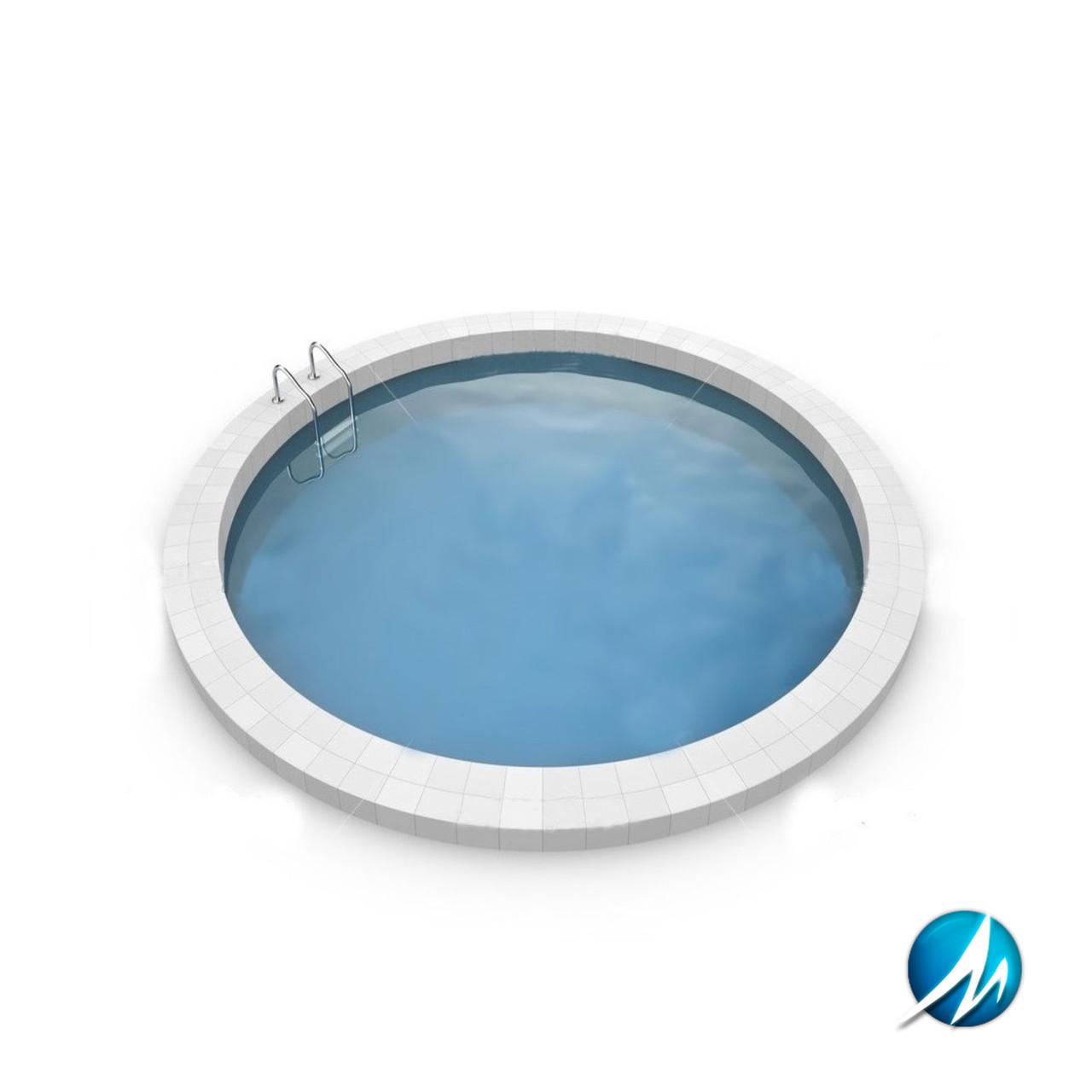 Сборный круглый бассейн MILANO 5,00х1,5 м, пленка 0,6 мм