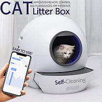 Автоматический туалет для кошек Els-Pet E801, WiFi, УФ-стерилизация., фото 1