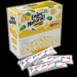 Витаминный чай лемо Lemo - пюре фруктовое для чая , коктейлей, лимонад Лимон Биттер 15*45г.