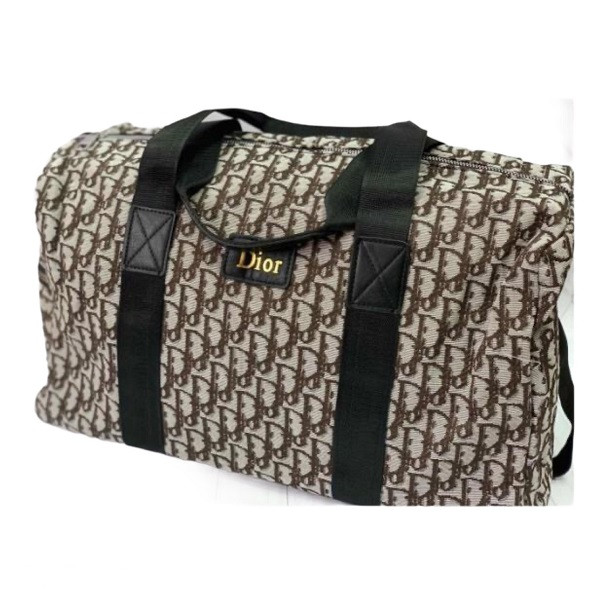 Дорожная сумка Dior Oblique 45*35*20 см коричневая