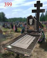 Памятник с православным крестом, фото 1