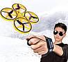УЦЕНКА! Квадрокоптер TRACKER с сенсорным управлением / Ручной дрон с управлением от руки жестами, фото 9