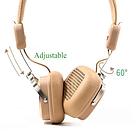 Беспроводные Bluetooth наушники Remax RB-200HB накладные, стерео гарнитура, Beige, фото 4