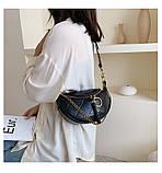 Стильная черная сумка, фото 2