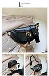 Стильная черная сумка, фото 4