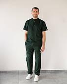 Мужской медицинский костюм Бостон изумруд
