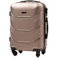 Дорожный чемодан wings 147 шампань размер XS(мини), фото 1