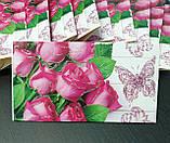 """Упаковка 10 штук конвертів для грошей """"Троянди"""", фото 2"""