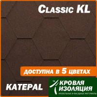 Битумная черепица KATEPAL Classic KL, фото 1