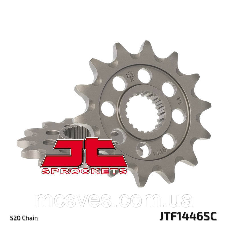 Звезда стальная передняя JT Sprockets JT JTF1446.13SC