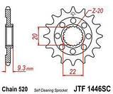 Звезда стальная передняя JT Sprockets JT JTF1446.13SC, фото 2