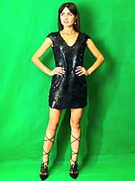 Женское платье в пайетки  Poliit 8582