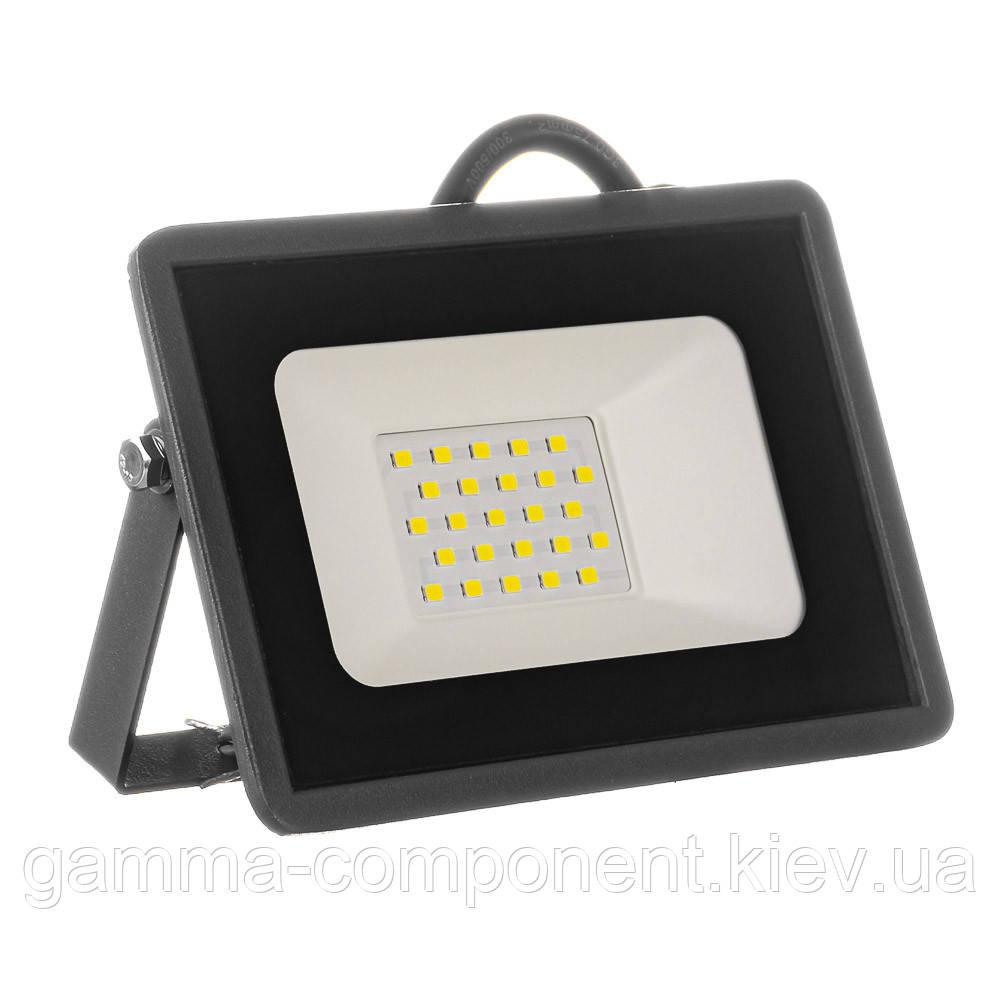 Прожектор светодиодный уличный AVT-5-IC 20Вт 6000К IP65